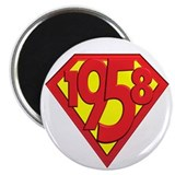 "50th birthday party favors 2.25"" Magnet (100 pack)"