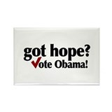 got hope? Vote Obama Rectangle Magnet (100 pack)