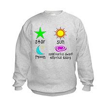 Astronomy for Smart Babies Sweatshirt