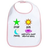 Astronomy for Smart Babies Bib