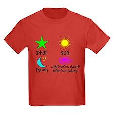 Astronomy for Smart Babies Kids Dark T-Shirt