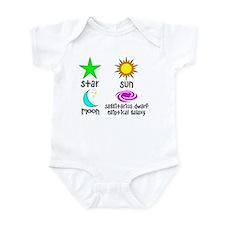 Astronomy for Smart Babies Infant Bodysuit