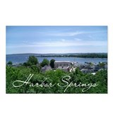 Cute Harbor springs Postcards (Package of 8)