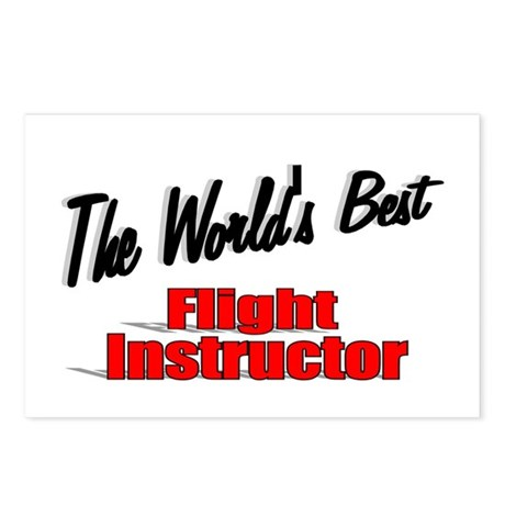 """The World's Best Flight Instructor"" Postcards (Pa"