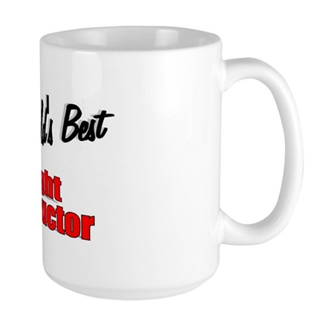 """The World's Best Flight Instructor"" Large Mug"