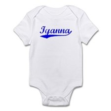 Vintage Iyanna (Blue) Infant Bodysuit