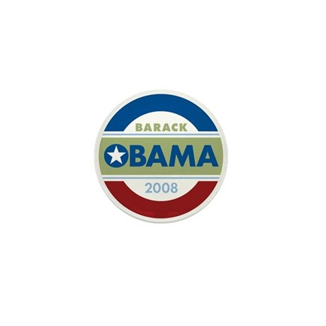 Barack Obama Mini Button (10 pack)