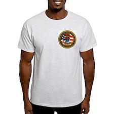 Air Marshal Ash Grey T-Shirt