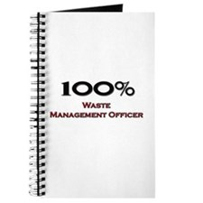 100 Percent Waste Management Officer Journal
