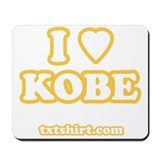 I love Kobe Mousepad