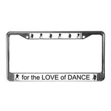 Ballroom Dance License Plate Frame
