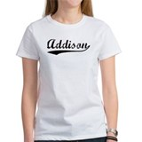 Vintage Addison (Black) Tee