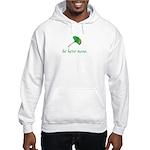 Be Here Now. Ginkgo leaf Hooded Sweatshirt