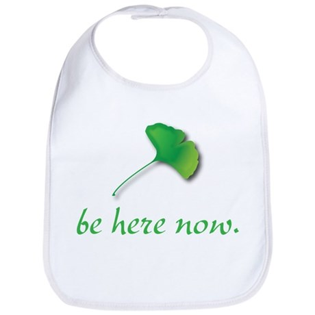 Be Here Now. Ginkgo leaf Bib