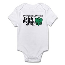 Irish Polish Girl Infant Bodysuit