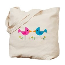Lovebirds Tote Bag