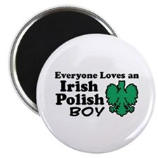 Irish Polish Boy Magnet