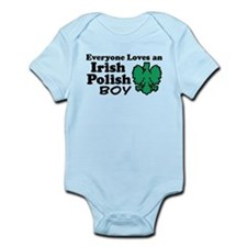Irish Polish Boy Infant Bodysuit