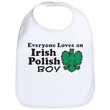 Irish Polish Boy Bib