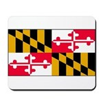 Maryland Blank Flag Mousepad