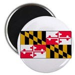 Maryland Blank Flag Magnet
