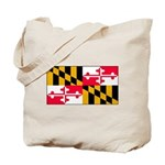 Maryland Blank Flag Tote Bag