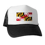 Maryland Blank Flag Trucker Hat