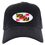 Maryland Blank Flag Black Cap
