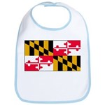 Maryland Blank Flag Bib