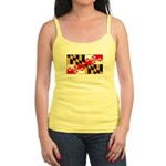 Maryland Blank Flag Jr. Spaghetti Tank