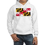 Maryland Blank Flag Hooded Sweatshirt
