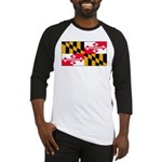 Maryland Blank Flag Baseball Jersey
