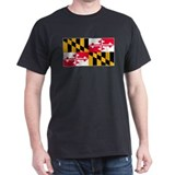 Maryland Blank Flag T-Shirt