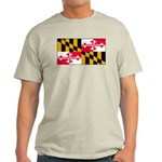 Maryland Blank Flag Light T-Shirt