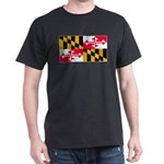 Maryland Blank Flag Dark T-Shirt