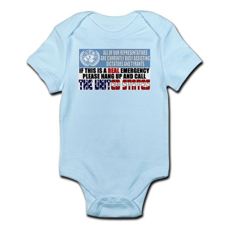 Anti United Nations Infant Creeper