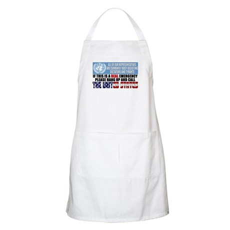 Anti United Nations BBQ Apron