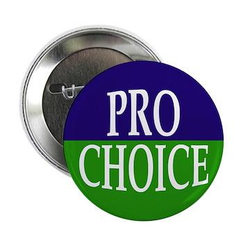 Pro-Choice Button (metal pinback)