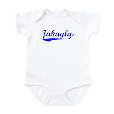 Vintage Jakayla (Blue) Infant Bodysuit