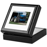 Ford New Holland 4 wd tractor Keepsake Box