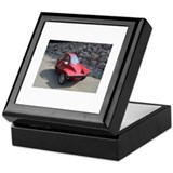 Red Freeway Mini Car Keepsake Box