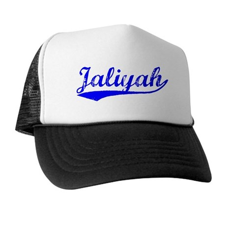 Vintage Jaliyah (Blue) Trucker Hat