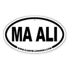 Ma Ali Oval Decal