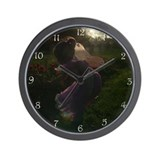 Twilight Fairy Wall Clock