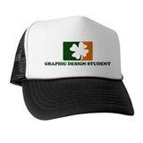 Irish GRAPHIC DESIGN STUDENT Trucker Hat