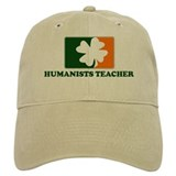 Irish HUMANISTS TEACHER Baseball Cap