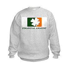 Irish FINANCIAL ANALYST Sweatshirt