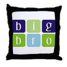 Big Brother (cubes) Throw Pillow