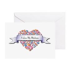 Love My Mailman Greeting Card