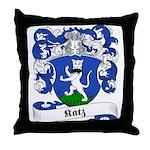 Katz Family Crest Throw Pillow